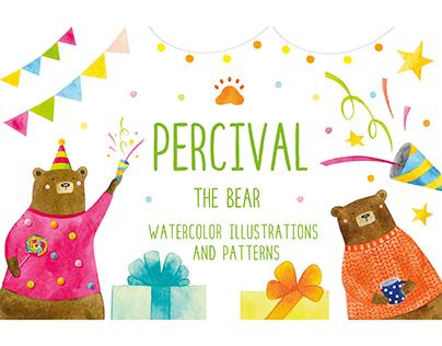 PERCIVAL the bear