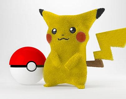 Pikachu en 3D