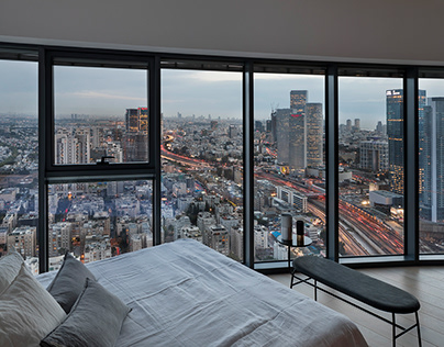 Assaf Pinchuk: Sky Apartment in Tel Aviv