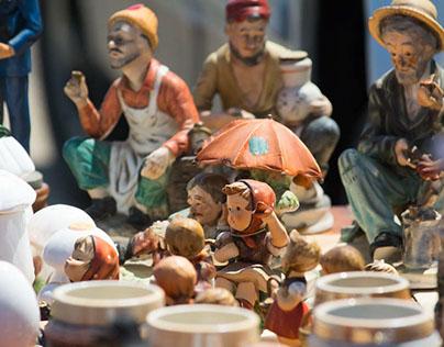 Flea Market treasures in Zanesville, Ohio 5-7-2017