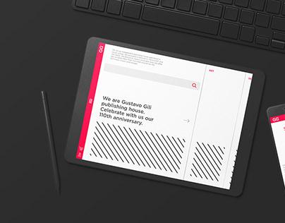 Gustavo Gili website redesign