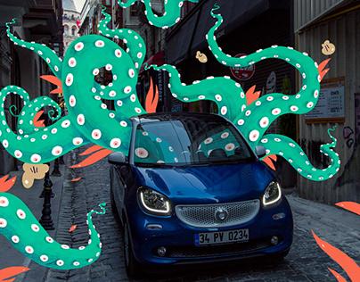 Mercedes Smart - Concept Illustrations