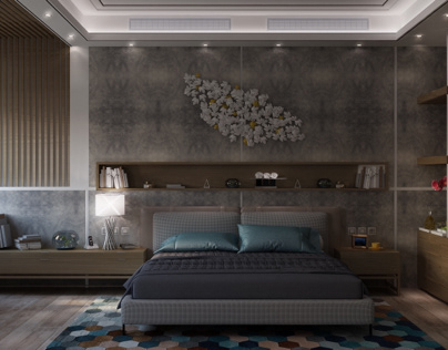 Modern adult bedroom