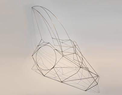 Chameleon sculpture project