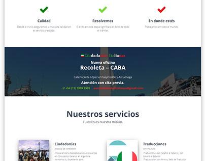 Web - EUR Ciudadanías Italianas
