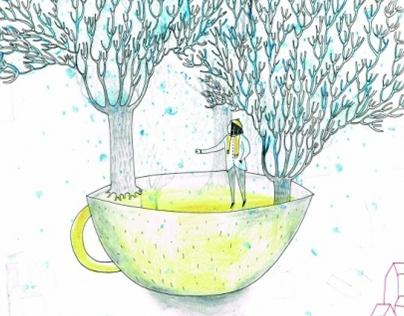 Snowing in my cup of tea.