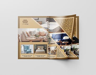 Home furnishings magazine