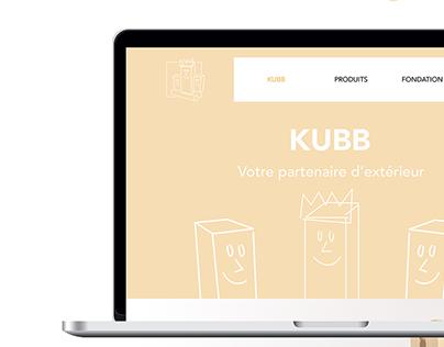 BRÄNDI KUBB - Webdesign