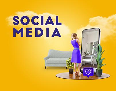 Golden House - Social Media
