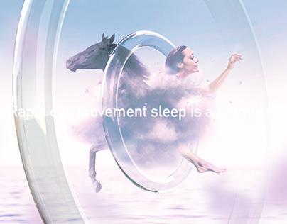 REM - Rapid eye movement