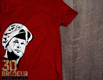 Martin Brodeur Commemorative T-shirt