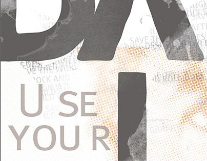 David Carson - Poster I