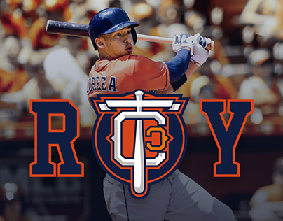 TEAM CJ CORREA MLB Professional Baseball Player