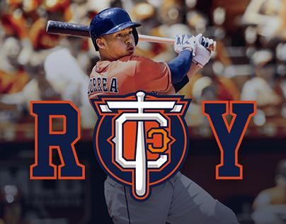 TEAM CJ CORREA MLB Professional Baseball Player