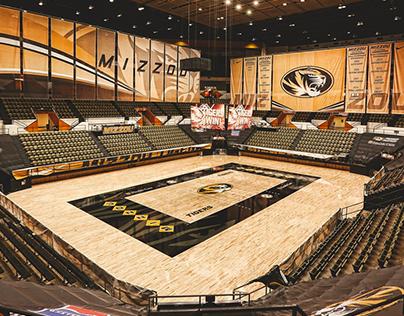 Mizzou Athletics court design