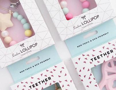 Loulou Lollipop Vancouver - Package Designs