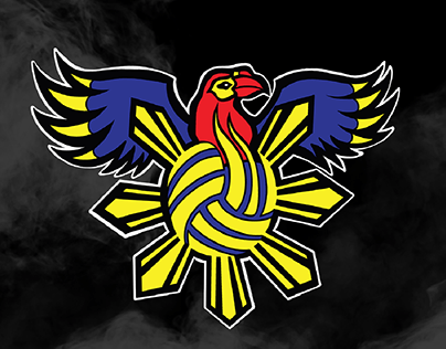 Walden Warriors Volleyball Sports Logo