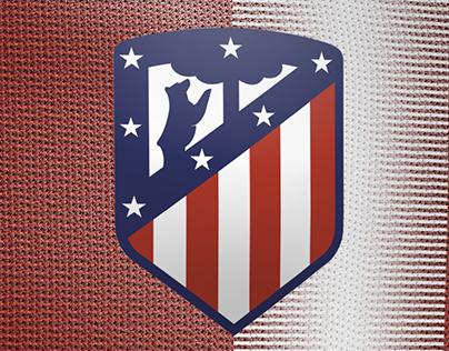 Atletico Madrid Home Kit Design