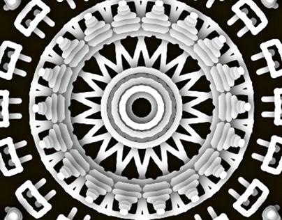 Nordic Mandala Illustration