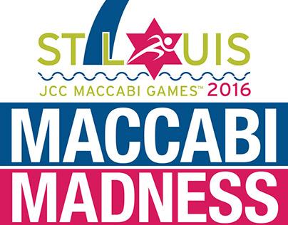 Maccabi Games 2016 Branding and Marketing Materials