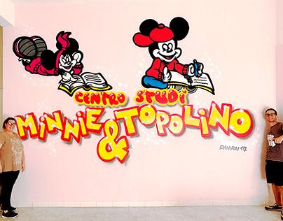 Murales per Centro studi Minnie & Topolino