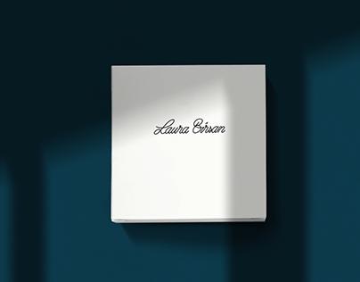 Laura Bîrsan - calligraphic logo