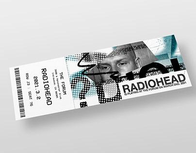 Radiohead Branding