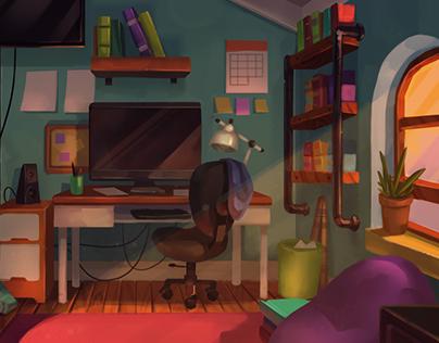 Evening Bedroom