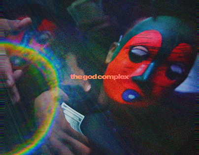 Goldling The God Complex Alternate Cover Art
