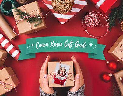 Canon - Social Media (Christmas Campaign)