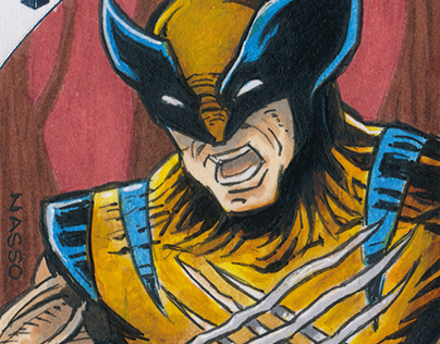 Upper Deck Marvel Premier Sketch Cards