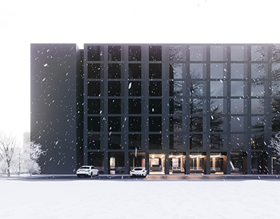 A.083 - Hotel building design