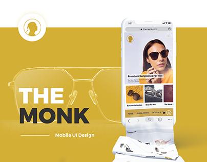 The Monk // Mobile UI Design