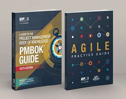 Book Covers: PMBOK® Guide and Agile Practice Guide