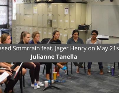 Julianne Tanella Released Smmrrain feat. Jager Henry on