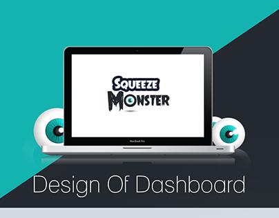 Dashboard Design Squeeze Monster