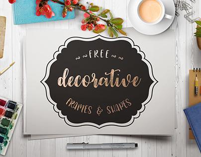 Free Decorative Frames & Shapes