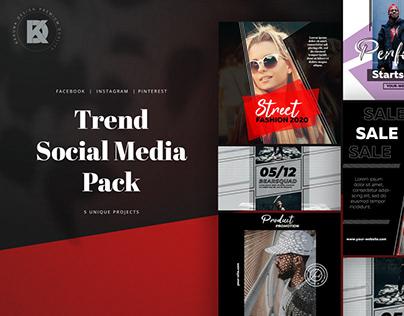 Trend Social Media Pack
