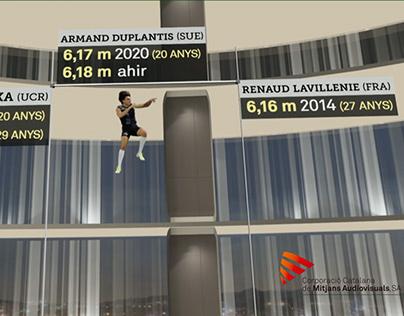 TN MIGDIA - Récord Armand Duplantis