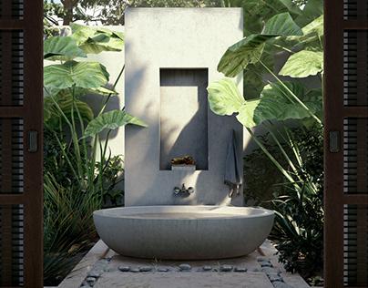 Jungle Bathtub