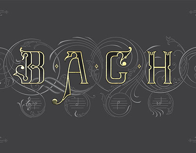 On The Theme of B.A.C.H - The Art of Fugue