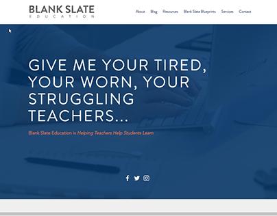 Blank Slate Education and LogoDesign