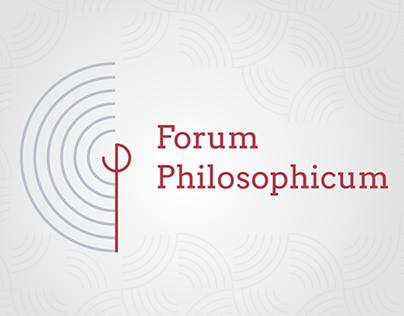 Forum Philosophicum Magazine - logo and cover