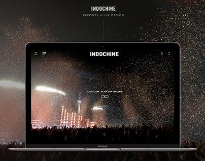 Refonte UI/UX - Indochine (2016)