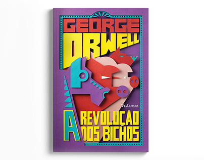 Animal Farm - George Orwell - Book Cover