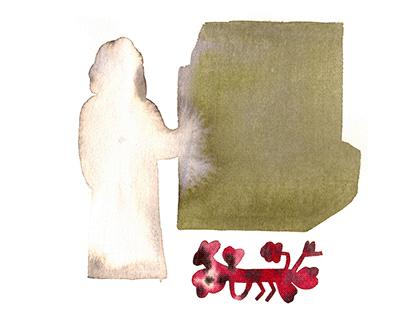 THINGS THAT KEPT ME SANE , 2020 illustrations
