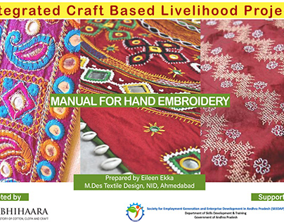 Manual for Hand Embroidery