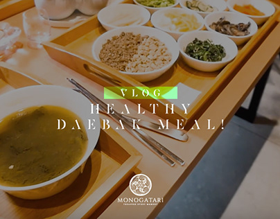 Healthy Daebak Meal - Vlog