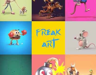 FREAK ART 900x900 COMPILATION