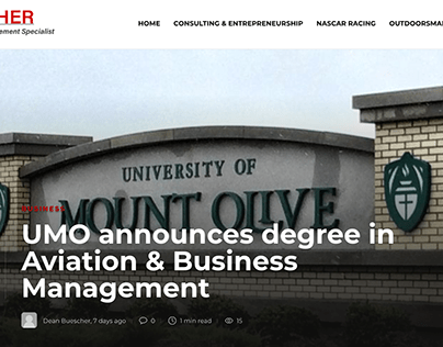 UMO announces degree in Aviation & Business Management